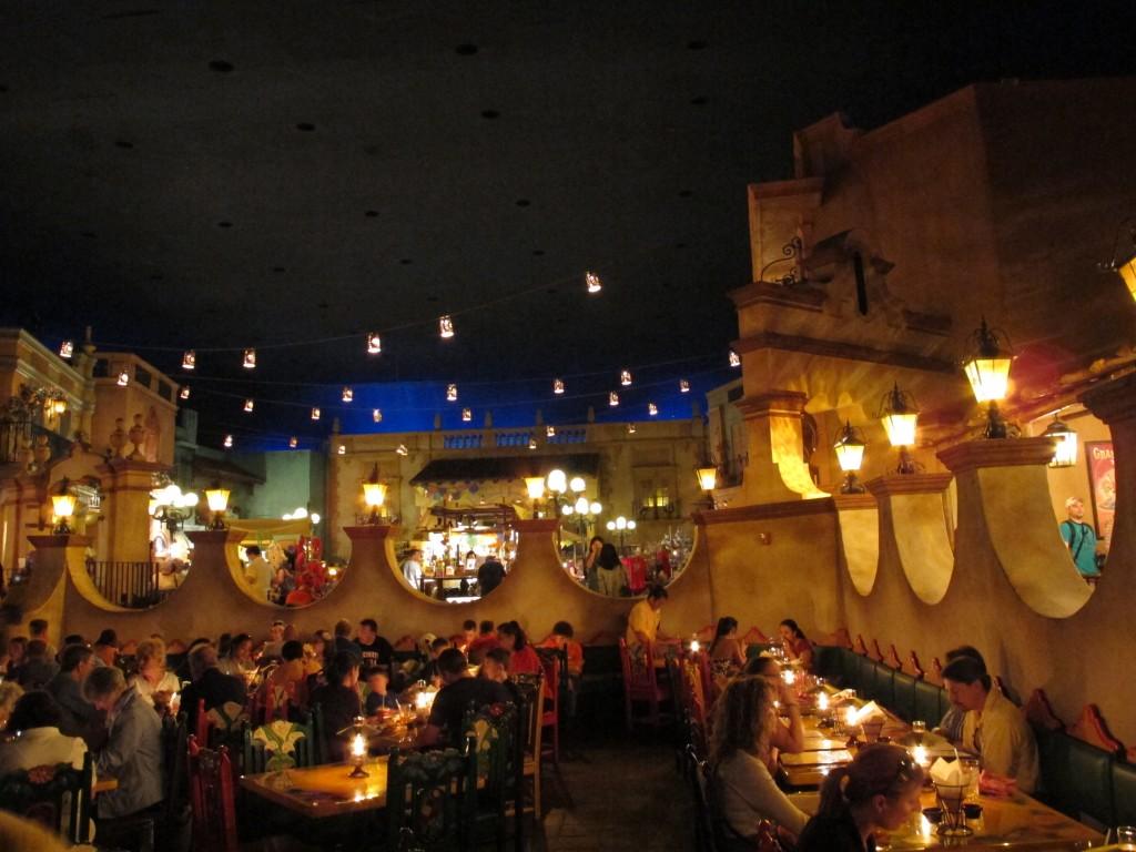 Restaurante San Angel Inn no México do Epcot