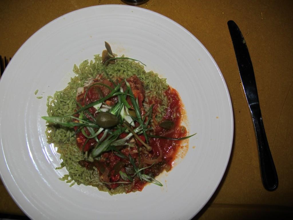 Comida típica Mexicana no San Angel Inn