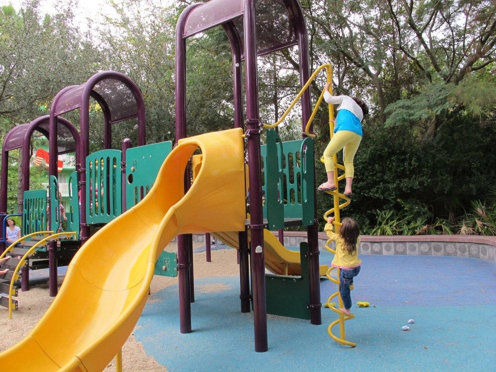 E ainda tem o Playground, perfeito principalmente para as crianças até 5 anos.