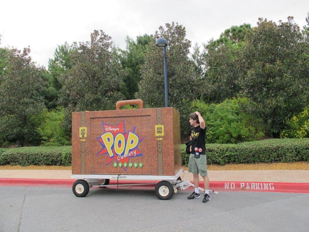 Por todo hotel você encontra coisas divertidas! Até no estacionamento!!!