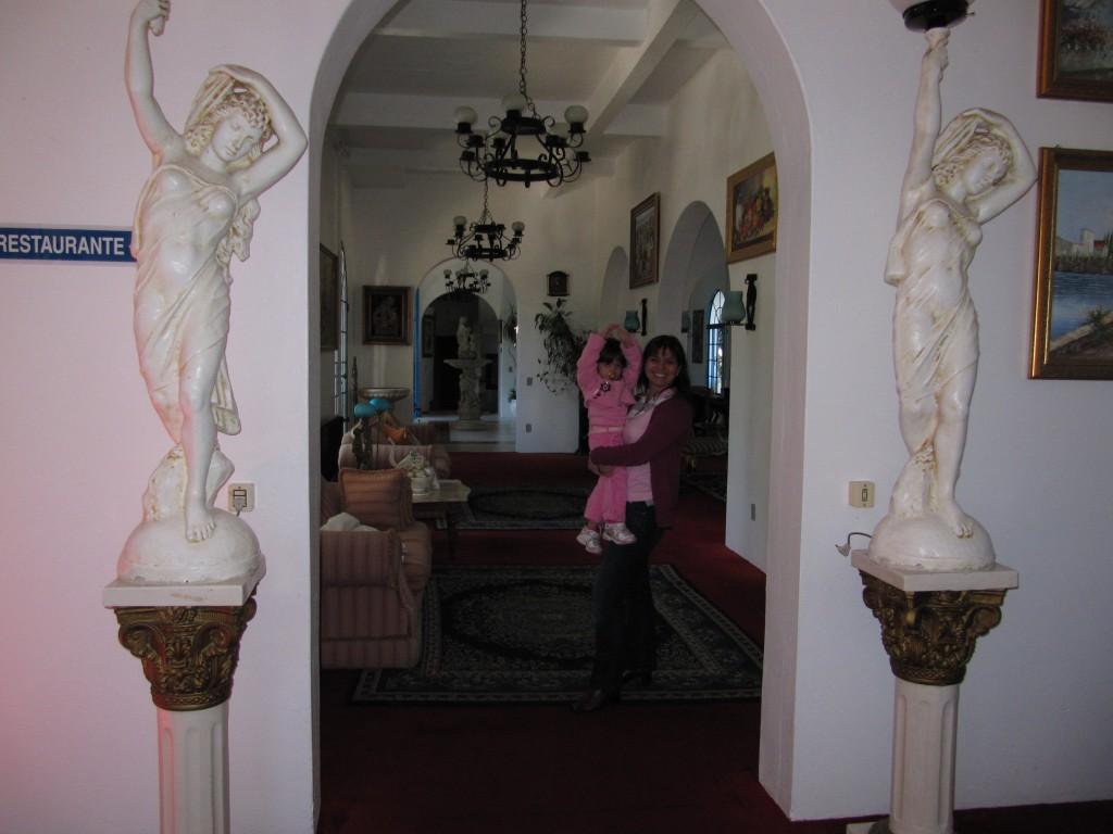 Corredores do Hotel Gramado Palace.