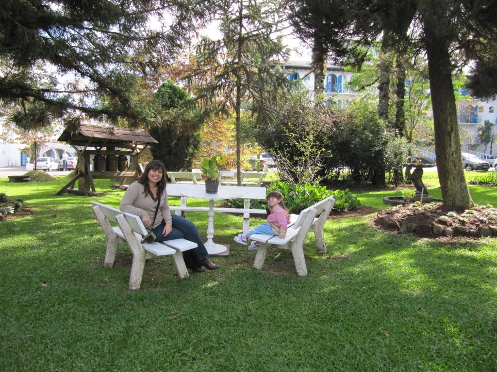 Jardins do Hotel Gramado Palace