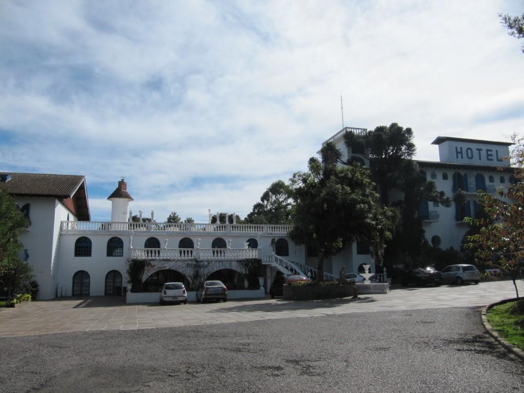 Fachada do Hotel Gramado Palace