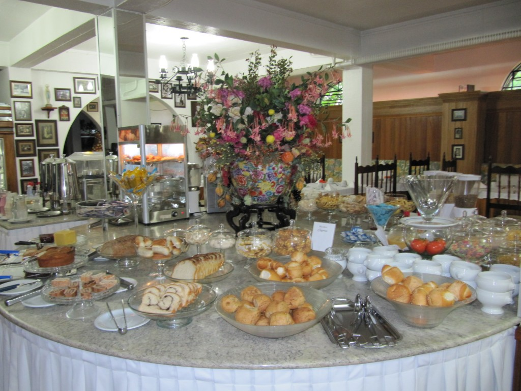 Café da manhã do Hotel Gramado Palace