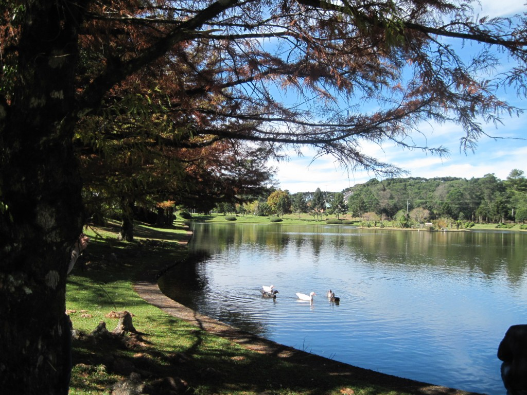 Lago no Condomínio Laje de Pedra em Canela