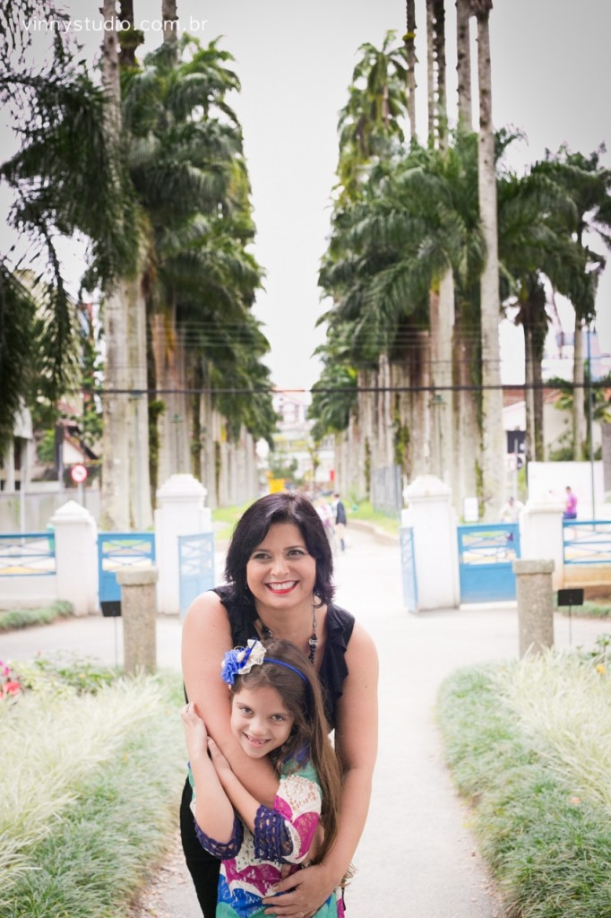 Rua das Palmeiras vista do arco do Museu da Imigração.