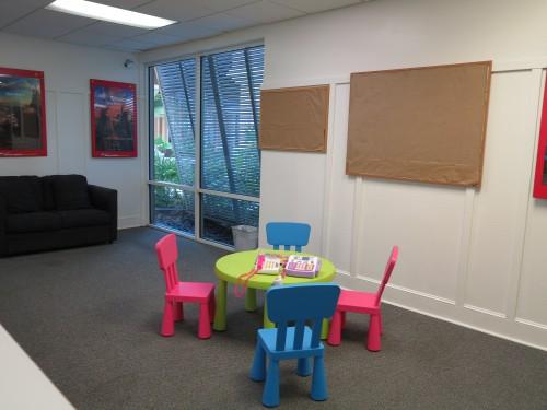 Área Kids junto com o salão de jogos