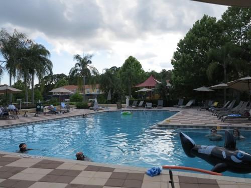 Uma das piscinas grandes