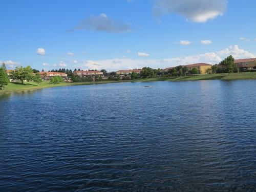 O Lago central