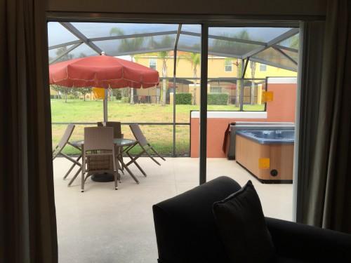 Área externa vista da sala