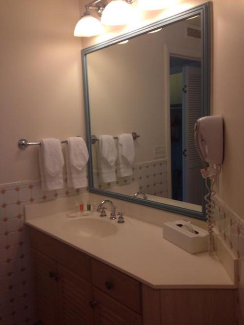 Banheiro do Hotel Old Key West