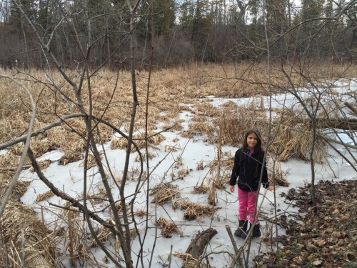 Vivendo perigosamente! Sobre o lago congelado!