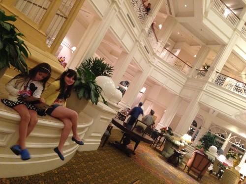 Passeando pelo hotel Grand Floridian