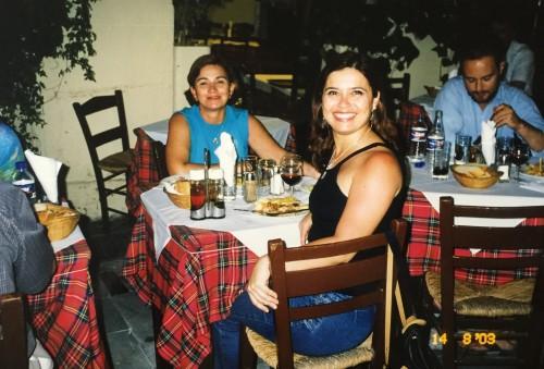 Na Grécia, uma boa comida típica mesmo em restaurantes simples