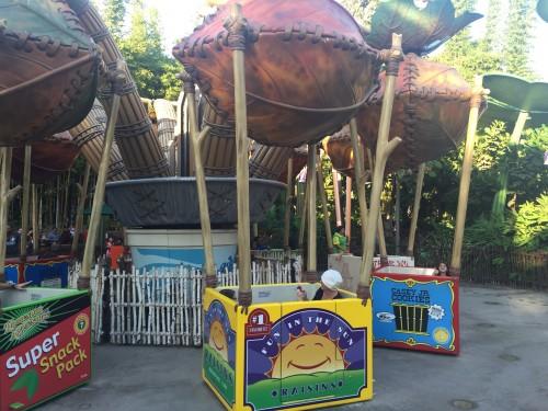 O parquinho dos Insetos é uma das áreas mais divertidas para as crianças pequenas