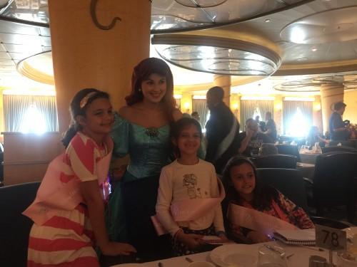 Ariel, a anfitriã
