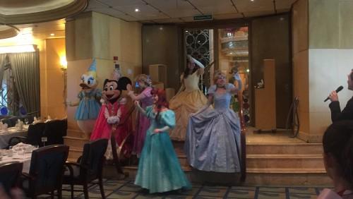 A despedida das princesas!