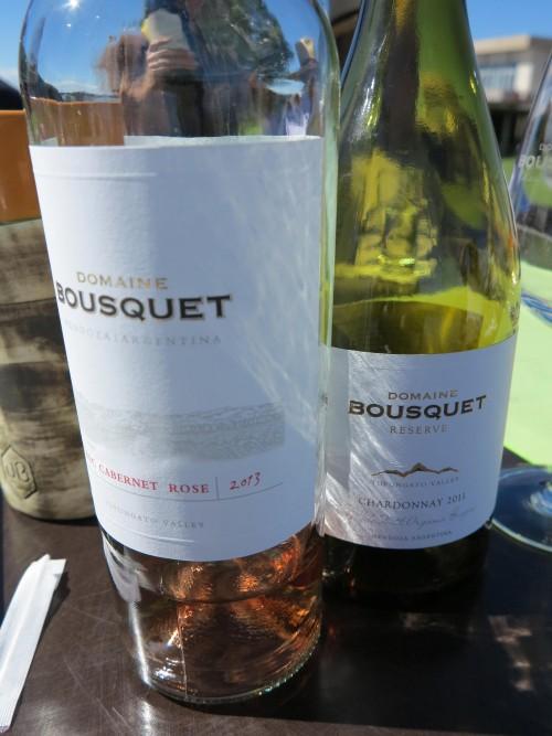 Os vinhos premiados são realmente deliciosos. Principalmente o rosé.