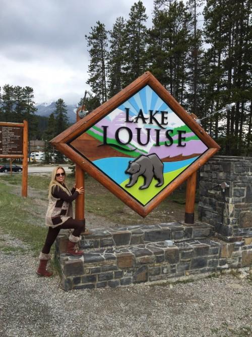 Lake Louise, um dos lagos mais famosos e lindos do Parque Nacional de Banff