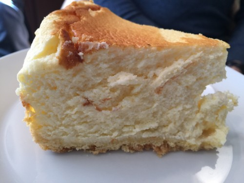 E a cereja do bolo: Cheseecake