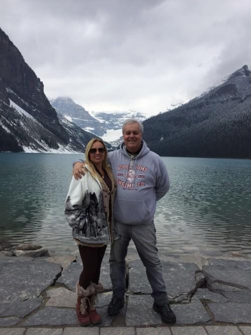 Nós em Lake Louise