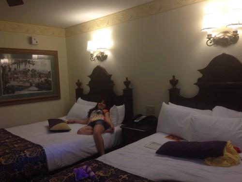 Duas camas de casal