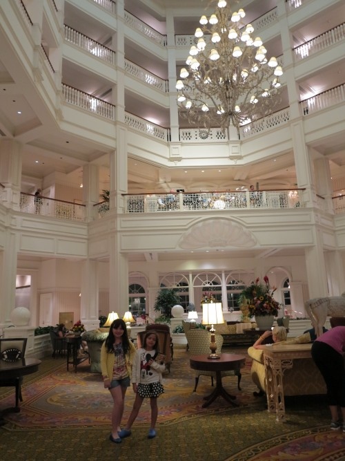 Hall Central do Hotel Grand Floridian