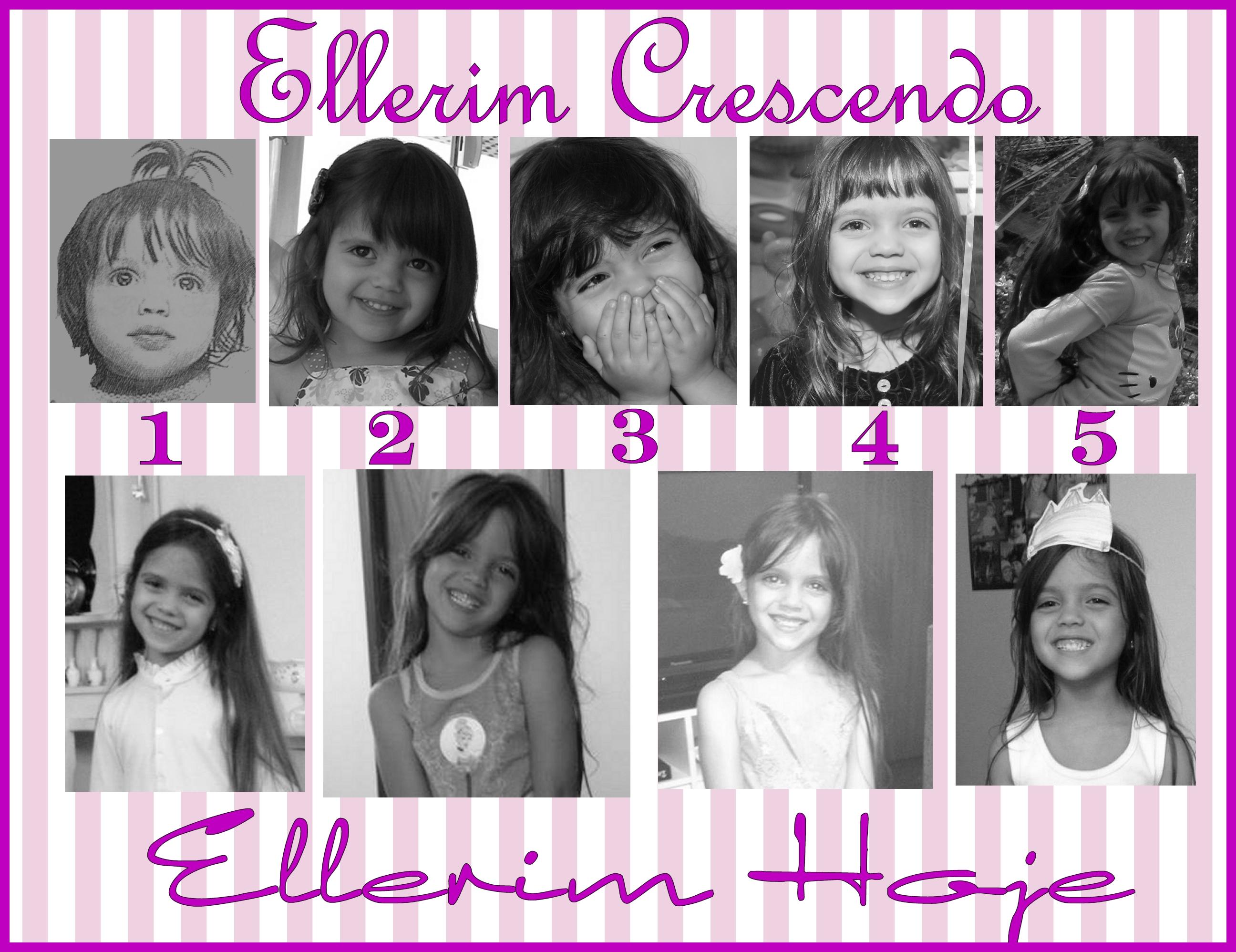 No meio deste ano Ellerim completa 6 anos! E está pronta par anovas aventuras!!!