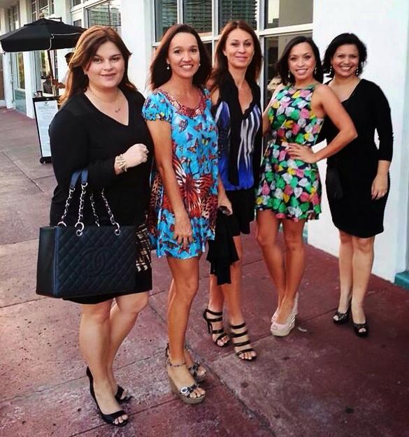 Em Miami com amigas!