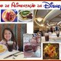 Plano de Alimentação da Disney - reservar pelo telefone 00 + código da operadora + 1 + 407 + 9397709